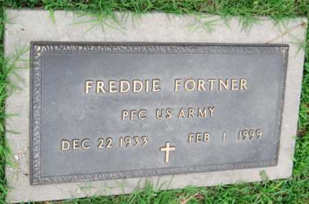 FORTNER (VETERAN), FREDDIE - Cherokee County, Oklahoma   FREDDIE FORTNER (VETERAN) - Oklahoma Gravestone Photos