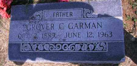 GARMAN, GROVER C - Cherokee County, Oklahoma | GROVER C GARMAN - Oklahoma Gravestone Photos