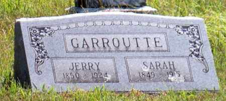 GARROUTTE, JERRY - Cherokee County, Oklahoma | JERRY GARROUTTE - Oklahoma Gravestone Photos