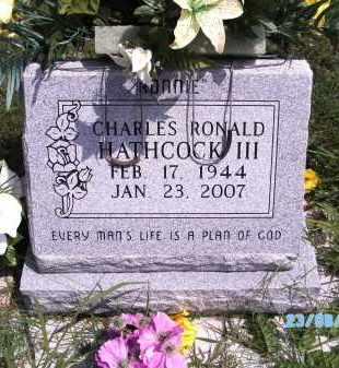 HATHCOCK, CHARLES RONALD III - Cherokee County, Oklahoma | CHARLES RONALD III HATHCOCK - Oklahoma Gravestone Photos