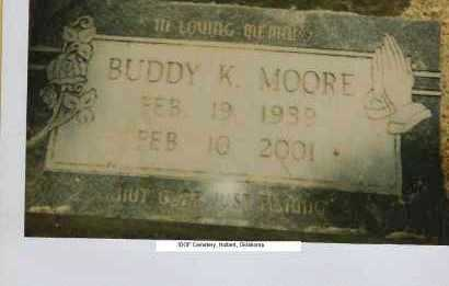 MOORE, BUDDY KEITH - Cherokee County, Oklahoma | BUDDY KEITH MOORE - Oklahoma Gravestone Photos