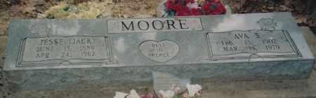 "MOORE, JESSE ""JACK"" ELMER - Cherokee County, Oklahoma | JESSE ""JACK"" ELMER MOORE - Oklahoma Gravestone Photos"
