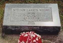 MOORE, WILLIAM LARKIN - Cherokee County, Oklahoma | WILLIAM LARKIN MOORE - Oklahoma Gravestone Photos