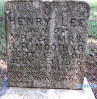 MOORING, HENRY LEE - Cherokee County, Oklahoma | HENRY LEE MOORING - Oklahoma Gravestone Photos