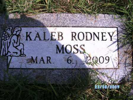 MOSS, KALEB RODNEY - Cherokee County, Oklahoma | KALEB RODNEY MOSS - Oklahoma Gravestone Photos
