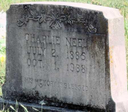 NEEL, CHARLES ALVEN - Cherokee County, Oklahoma   CHARLES ALVEN NEEL - Oklahoma Gravestone Photos
