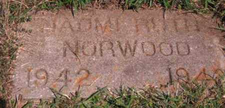 NORWOOD, NAOMI RUTH - Cherokee County, Oklahoma | NAOMI RUTH NORWOOD - Oklahoma Gravestone Photos