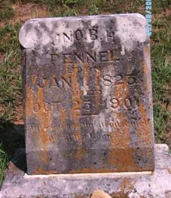 PENNEL, JNO B. H. - Cherokee County, Oklahoma   JNO B. H. PENNEL - Oklahoma Gravestone Photos