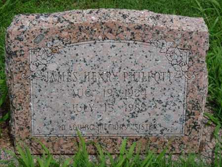 PHILPOTT, JAMES HENRY - Cherokee County, Oklahoma   JAMES HENRY PHILPOTT - Oklahoma Gravestone Photos