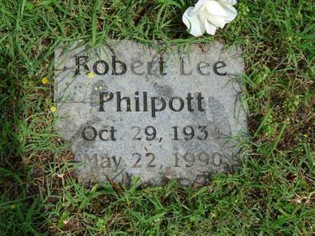 PHILPOTT, ROBERT LEE - Cherokee County, Oklahoma | ROBERT LEE PHILPOTT - Oklahoma Gravestone Photos