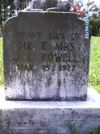 POWELL, INFANT SON - Cherokee County, Oklahoma | INFANT SON POWELL - Oklahoma Gravestone Photos