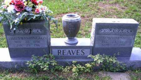 REAVES, JAMES WASHINGTON - Cherokee County, Oklahoma | JAMES WASHINGTON REAVES - Oklahoma Gravestone Photos