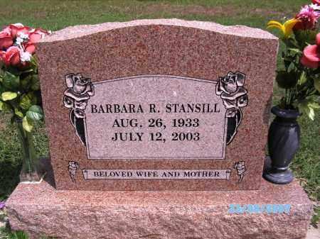 STANSILL, BARBARA R - Cherokee County, Oklahoma | BARBARA R STANSILL - Oklahoma Gravestone Photos