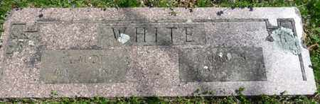WHITE, CARRIE BELLE - Cherokee County, Oklahoma   CARRIE BELLE WHITE - Oklahoma Gravestone Photos