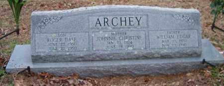 ARCHEY, ROGER DALE - Choctaw County, Oklahoma | ROGER DALE ARCHEY - Oklahoma Gravestone Photos