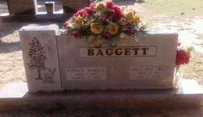 BAGGETT, ERILE MAE (BILL) - Choctaw County, Oklahoma   ERILE MAE (BILL) BAGGETT - Oklahoma Gravestone Photos