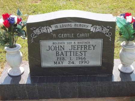 BATTIEST, JOHN JEFFREY - Choctaw County, Oklahoma | JOHN JEFFREY BATTIEST - Oklahoma Gravestone Photos
