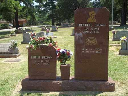 BROWN, FRECKLES - Choctaw County, Oklahoma | FRECKLES BROWN - Oklahoma Gravestone Photos