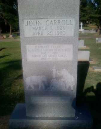CARROLL, JOHN - Choctaw County, Oklahoma | JOHN CARROLL - Oklahoma Gravestone Photos