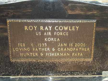 COWLEY (VETERAN KOR), ROY RAY - Choctaw County, Oklahoma | ROY RAY COWLEY (VETERAN KOR) - Oklahoma Gravestone Photos