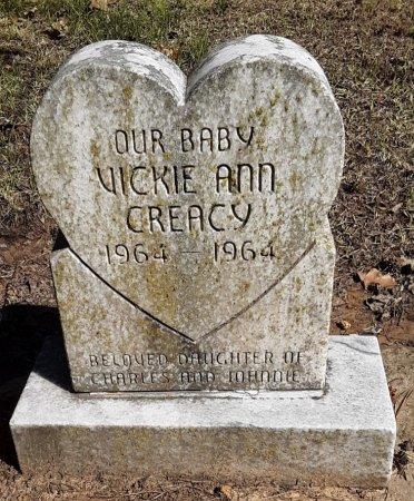 CREACY, VICKIE ANN - Choctaw County, Oklahoma | VICKIE ANN CREACY - Oklahoma Gravestone Photos