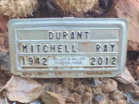 DURANT, MITCHELL RAY - Choctaw County, Oklahoma | MITCHELL RAY DURANT - Oklahoma Gravestone Photos