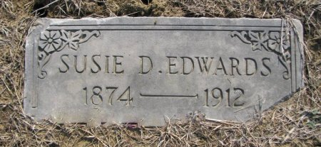 EDWARDS, SUSIE - Choctaw County, Oklahoma | SUSIE EDWARDS - Oklahoma Gravestone Photos