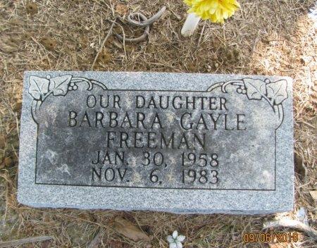 FREEMAN, BARBARA GAYLE - Choctaw County, Oklahoma   BARBARA GAYLE FREEMAN - Oklahoma Gravestone Photos
