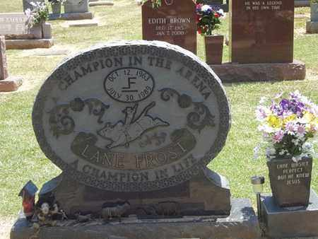 FROST, LANE - Choctaw County, Oklahoma   LANE FROST - Oklahoma Gravestone Photos