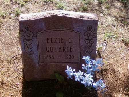 GUTHRIE, ELZIE CALHOUN - Choctaw County, Oklahoma   ELZIE CALHOUN GUTHRIE - Oklahoma Gravestone Photos