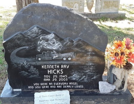 HICKS, KENNETH RAY - Choctaw County, Oklahoma | KENNETH RAY HICKS - Oklahoma Gravestone Photos