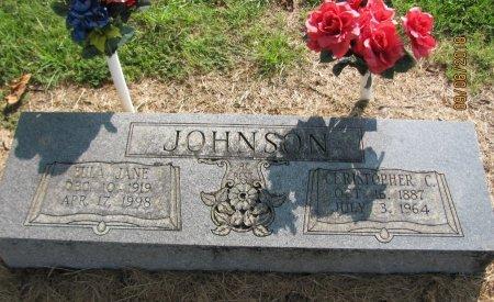 JOHNSON, CHRISTOPHER C.EULA - Choctaw County, Oklahoma | CHRISTOPHER C.EULA JOHNSON - Oklahoma Gravestone Photos