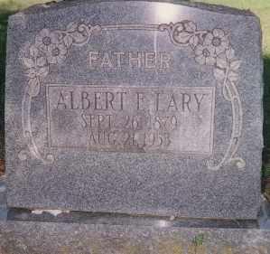 LARY, ALBERT E. - Choctaw County, Oklahoma | ALBERT E. LARY - Oklahoma Gravestone Photos