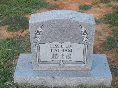 LATHAM, DESSIE LOU - Choctaw County, Oklahoma | DESSIE LOU LATHAM - Oklahoma Gravestone Photos