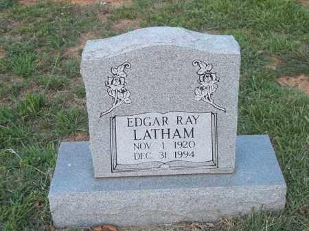 LATHAM, EDGAR RAY - Choctaw County, Oklahoma | EDGAR RAY LATHAM - Oklahoma Gravestone Photos