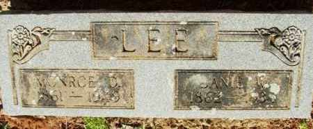 WELBORN LEE, AMANDA JANE VINEYARD - Choctaw County, Oklahoma | AMANDA JANE VINEYARD WELBORN LEE - Oklahoma Gravestone Photos