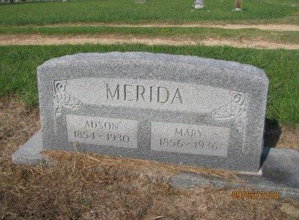 MERIDA, ADSON - Choctaw County, Oklahoma | ADSON MERIDA - Oklahoma Gravestone Photos