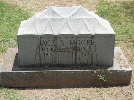 MOORE, JACK B. - Choctaw County, Oklahoma   JACK B. MOORE - Oklahoma Gravestone Photos