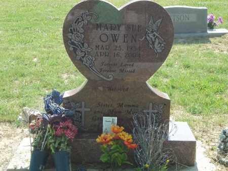 OWEN, MARY SUE - Choctaw County, Oklahoma   MARY SUE OWEN - Oklahoma Gravestone Photos
