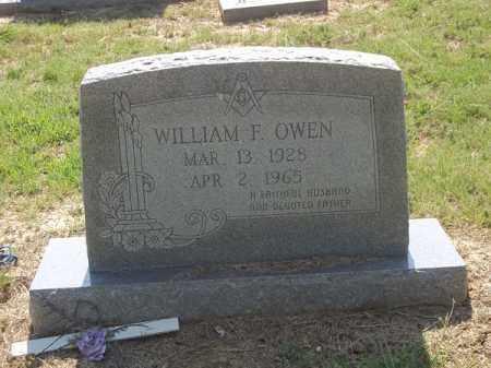 OWEN, WILLIAM F - Choctaw County, Oklahoma   WILLIAM F OWEN - Oklahoma Gravestone Photos