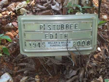 PISTUBBEE, EDITH - Choctaw County, Oklahoma   EDITH PISTUBBEE - Oklahoma Gravestone Photos