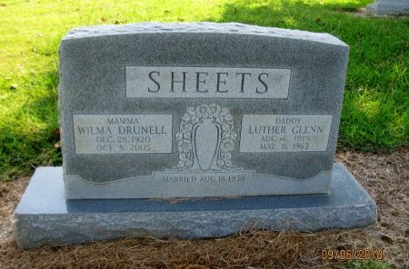 STILLWELL SHEETS, WILMA DRUNELL - Choctaw County, Oklahoma | WILMA DRUNELL STILLWELL SHEETS - Oklahoma Gravestone Photos