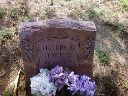 GUTHRIE TOWERY, LUCINDA - Choctaw County, Oklahoma | LUCINDA GUTHRIE TOWERY - Oklahoma Gravestone Photos