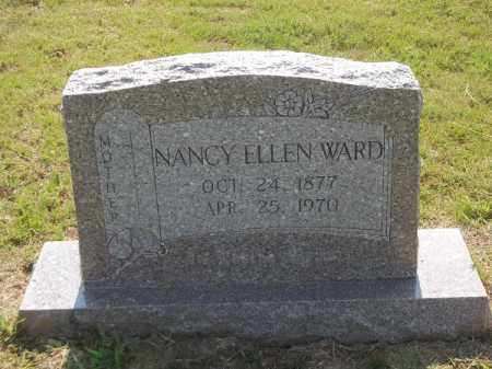 WARD, NANCY ELLEN - Choctaw County, Oklahoma | NANCY ELLEN WARD - Oklahoma Gravestone Photos