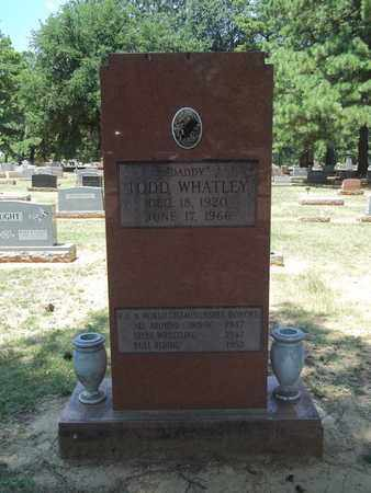 WHATLEY, TODD - Choctaw County, Oklahoma | TODD WHATLEY - Oklahoma Gravestone Photos