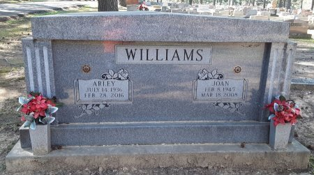 WILLIAMS, ARLEY - Choctaw County, Oklahoma | ARLEY WILLIAMS - Oklahoma Gravestone Photos