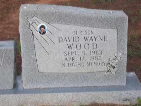 WOOD, DAVID WAYNE - Choctaw County, Oklahoma   DAVID WAYNE WOOD - Oklahoma Gravestone Photos
