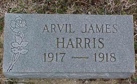 HARRIS, ARVIL JAMES - Coal County, Oklahoma   ARVIL JAMES HARRIS - Oklahoma Gravestone Photos