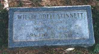 MULLINS STINNETT, WILLIE ODELL - Coal County, Oklahoma | WILLIE ODELL MULLINS STINNETT - Oklahoma Gravestone Photos