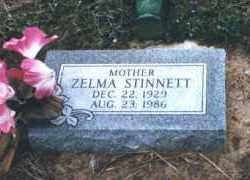 STINNETT, ZELMA HANAH - Coal County, Oklahoma | ZELMA HANAH STINNETT - Oklahoma Gravestone Photos